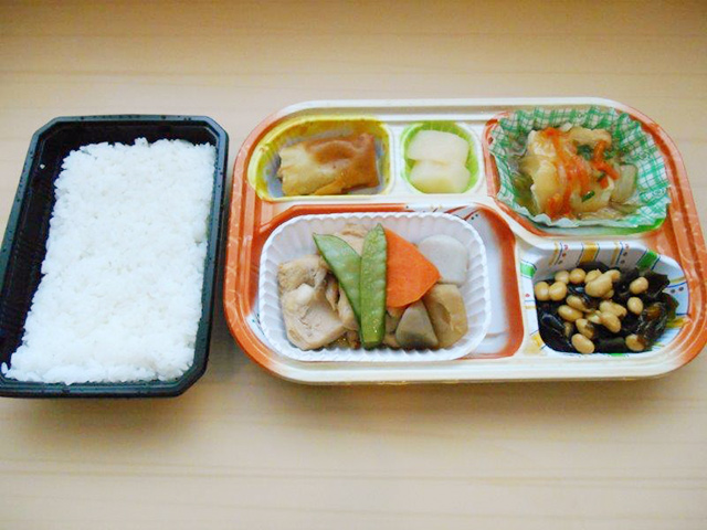 お弁当昼食②