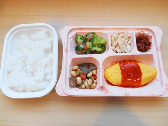 お弁当夕食①