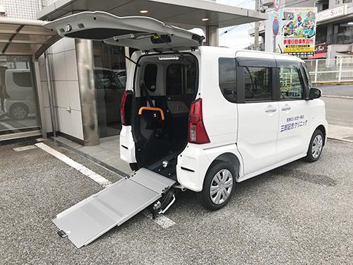 車椅子利用者さんの送迎対応可